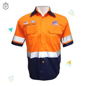 Baju Safety Wearpack Proyek EDGENTA NRC