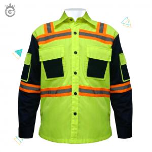 Kemeja Baju Safety