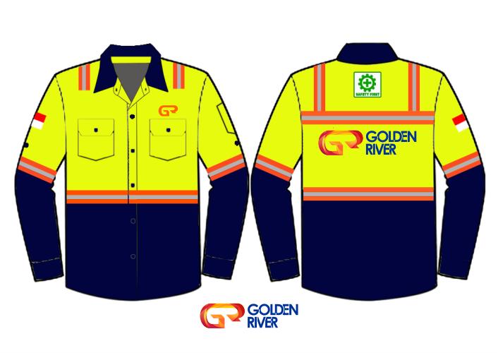 contoh desain baju tambang 4
