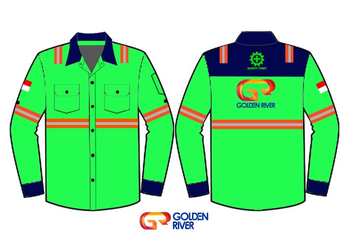 contoh desain baju tambang 5
