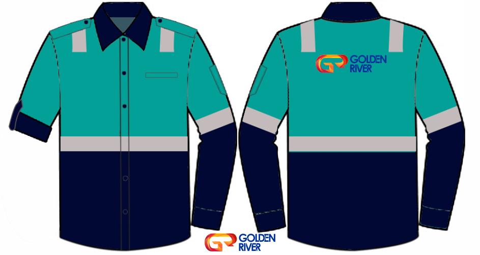 contoh desain baju tambang 8