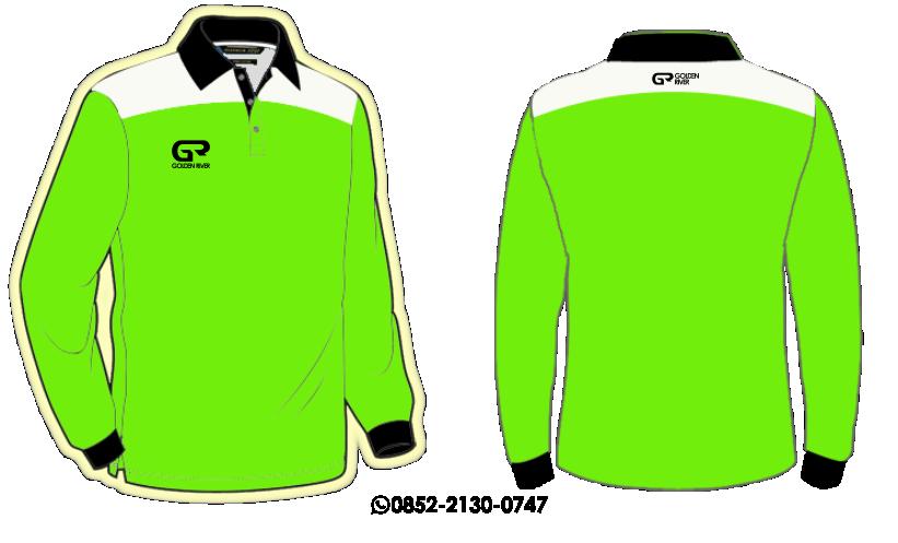 contoh desain polo shirt lengan panjang 8