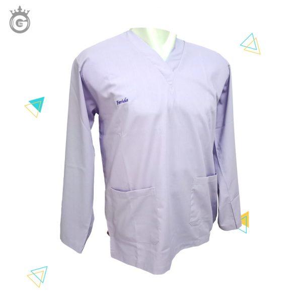 baju seragam jaga rumah sakit