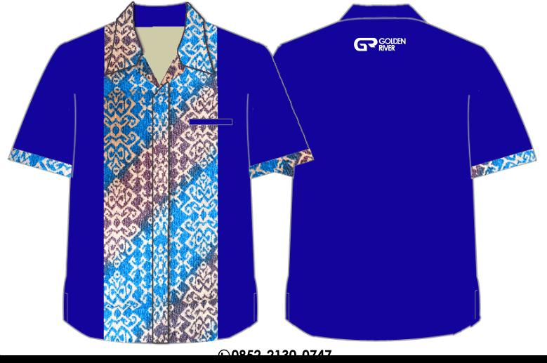 baju seragam variasi batik