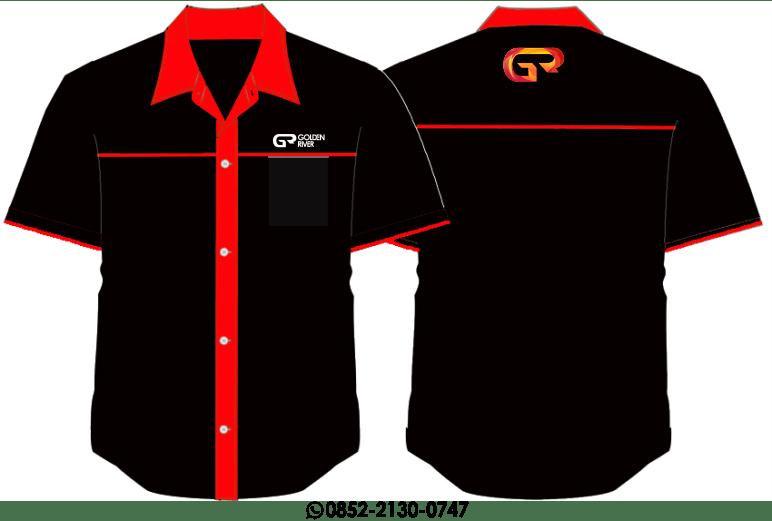 desain baju seragam formal