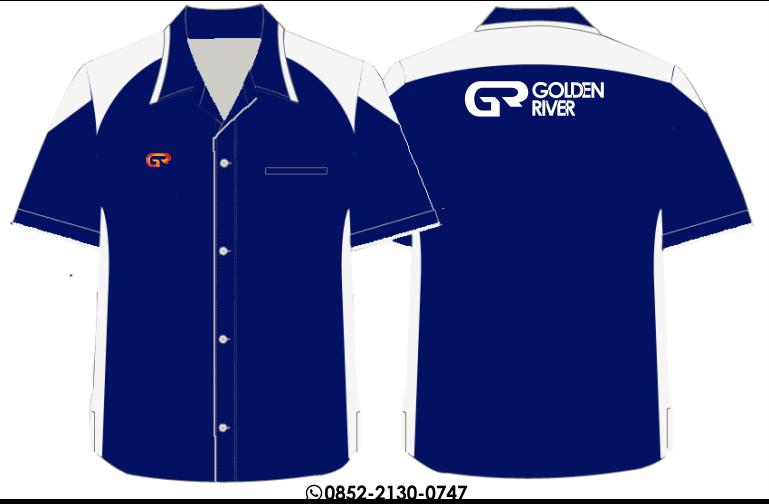 baju seragam pendek lapangan