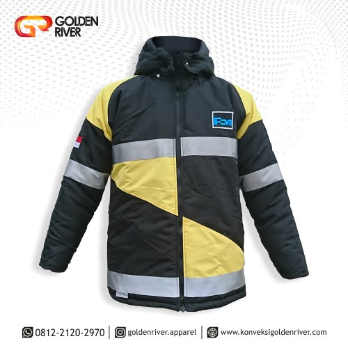 jaket safety freeport indonesia