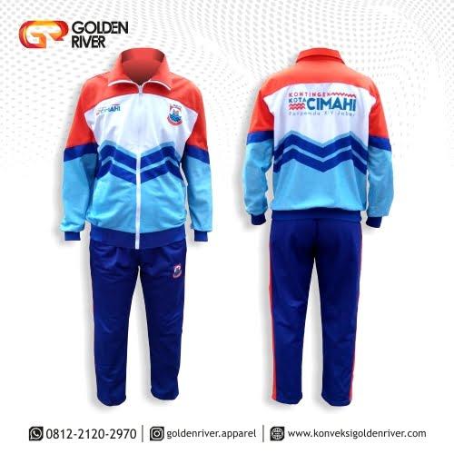 baju olahraga pemkot cimahi