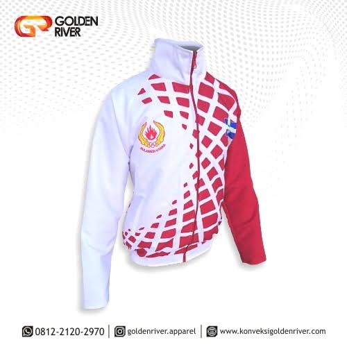 contoh jaket olahraga