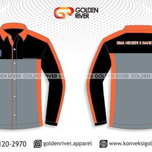 contoh desain baju seragam panjang ob sma 8