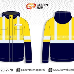contoh desain jaket safety outdoor