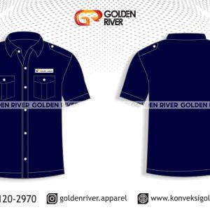 contoh desain baju seragam bank bni