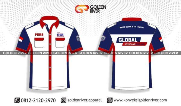 contoh desain baju seragam ginews tv 2