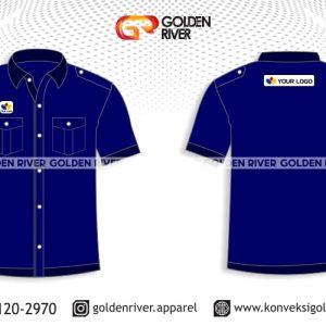 contoh desain baju seragam pegawai bank