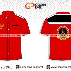contoh desain baju seragam komunitas maluku