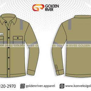 contoh desain baju seragam lapangan tambang
