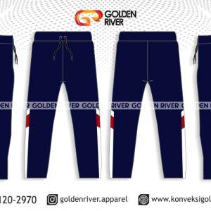 contoh desain celana training perusahaan