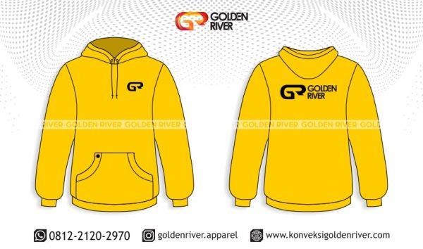 contoh desain hoodie golden