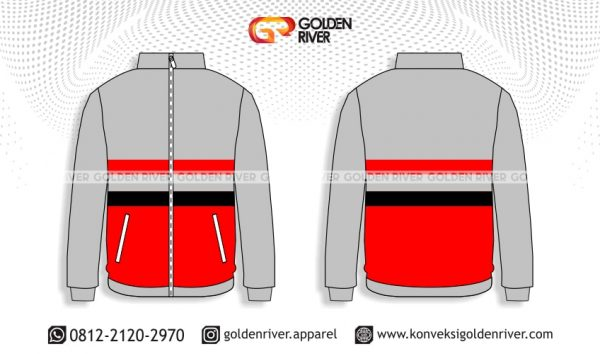 contoh desain jaket training spak
