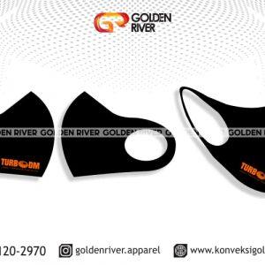 contoh desain masker turbo dm orange