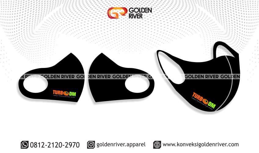 Contoh Desain Masker Scuba Turbo DM Color | Konveksi Bandung
