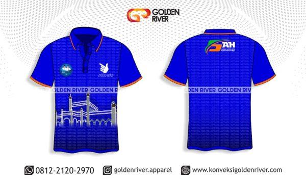 contoh desain polo shirt kampanye sah