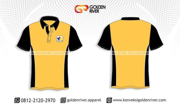 contoh desain polo shirt kerja