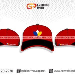 contoh desain topi perusahaan