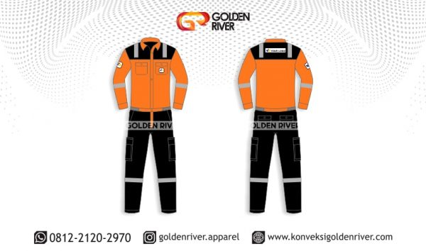 contoh desain wearpack tambang