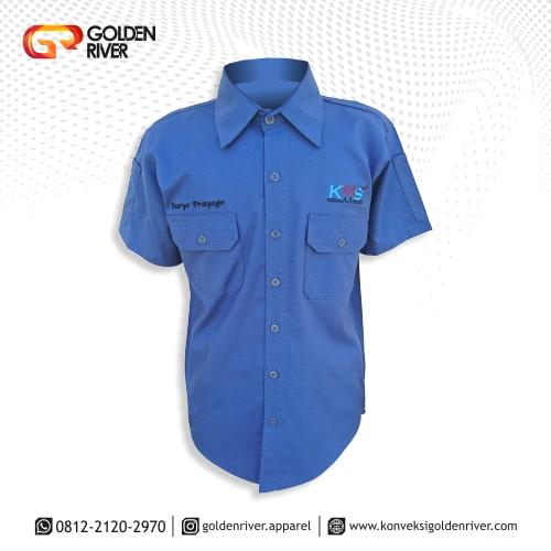 baju seragam kerja kms