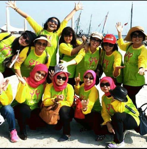 Kaos Komunitas Yoga Bandung