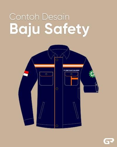 Contoh Desain Baju Safety