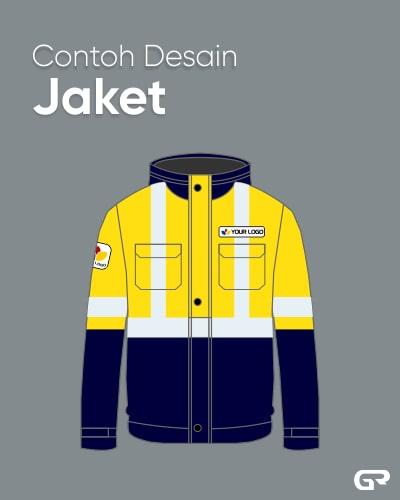 Contoh Desain Jaket