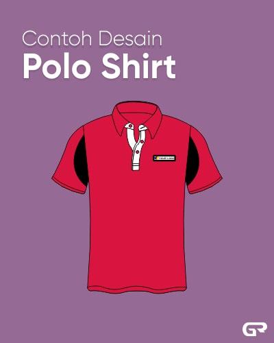 Contoh Desain Polo Shirt