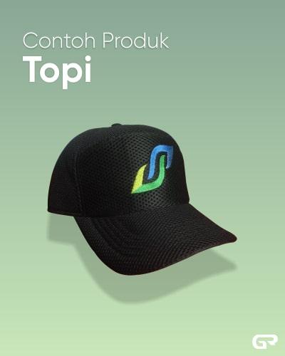 Contoh Produk Topi