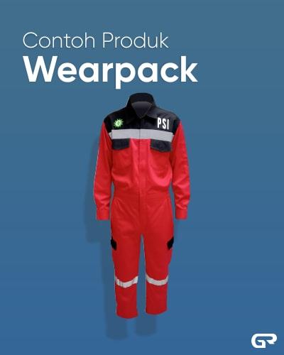 Contoh Produk Wearpack