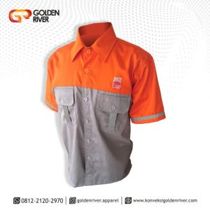 baju seragam kerja minamas