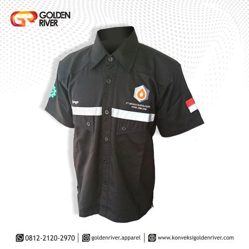 baju seragam megah surya pertiwi hitam