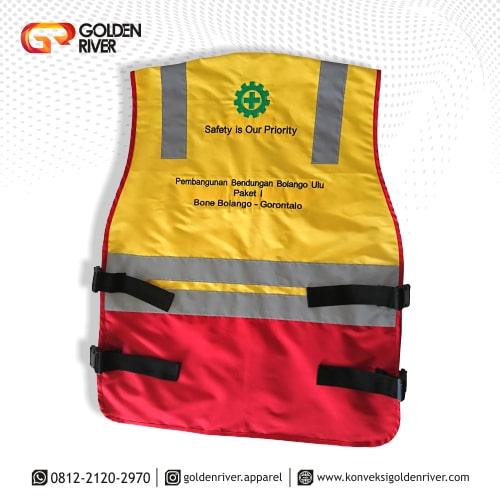 rompi safety proyek gorontalo