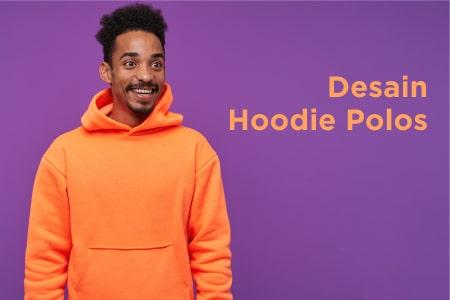 Desain Hoodie Polos Depan Belakang