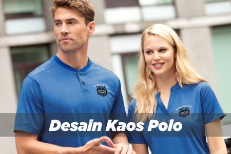 Desain Kaos Polo