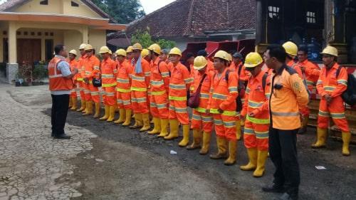 Baju Kemeja Safety KG RNC