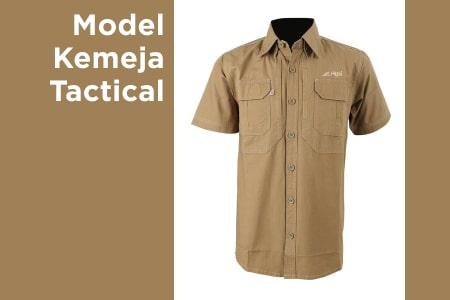 Kemeja Tactical : Bahan Model Dan Warna Yang Populer Dikalangan Pria