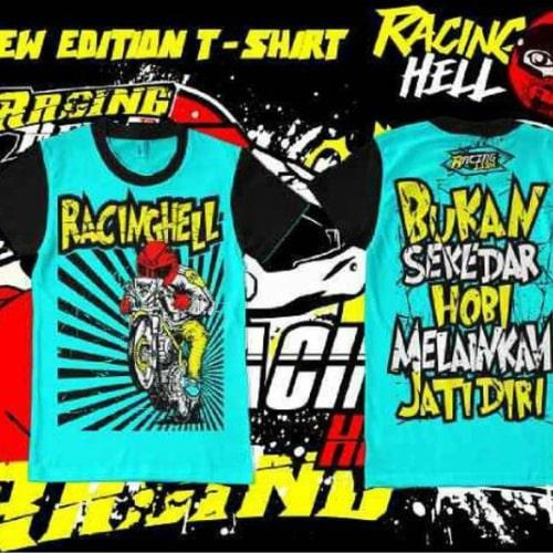 Baju Kaos Racing Hell-min