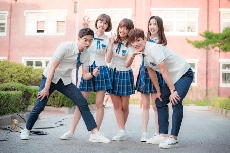 Model Seragam Sekolah Korea Selatan-min