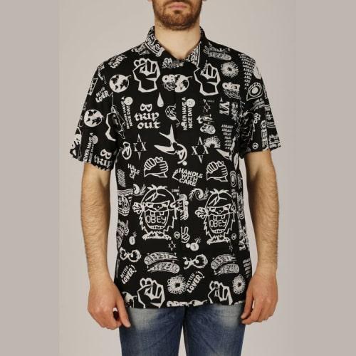 Baju Kemeja Full Print-min
